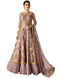 stylishfashion Ethnic wear Readymade wear Ethnic Indian Pakistani Gown Style Net Anarkali Salwar Kameez for Women