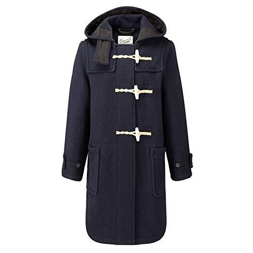 c6bb903df Gloverall Womens Original Monty Wool Duffle Coat Navy L