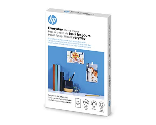 "HP CR759A Everyday Photo Paper, Glossy (4x6"", 100 sht)"