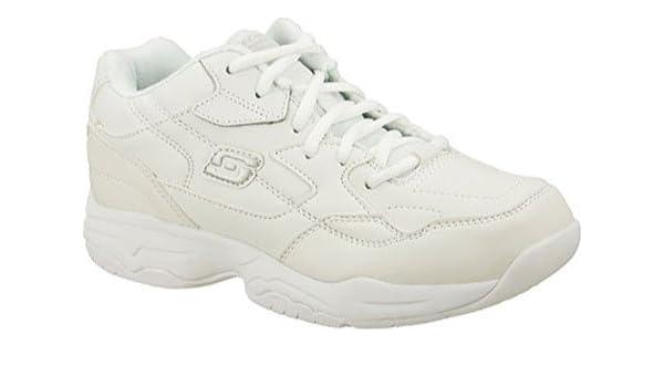 Skechers para el trabajo 76555 Albie holgado de zapato para ...