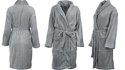 Albornoz para sauna, para hombre y mujer,4tamaños y colores antracita