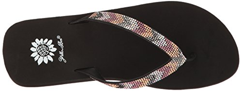Wedge Purple Sandal Taye Box Women's Multi Yellow nZ6xPwt