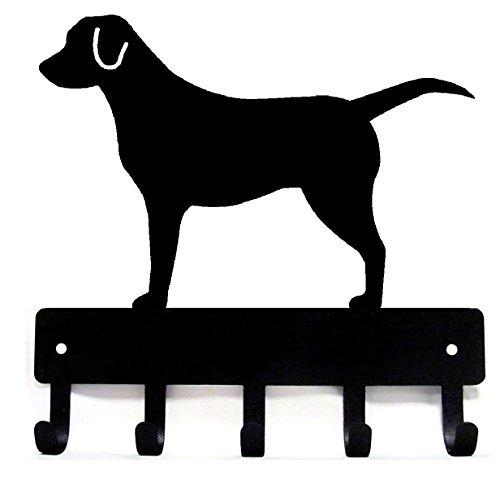 Labrador Retriever Key Rack & Dog Leash Hanger Large 9 inch