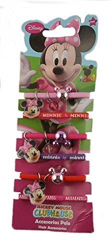 Minnie Mouse Haargummi 306236 Haarspangen Haarschmuck Haarspange Haarzopf / Kinderschmuck