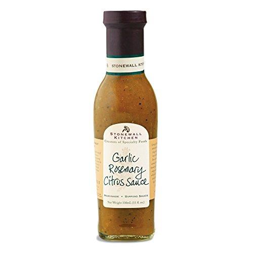 - Stonewall Kitchen Garlic Rosemary Citrus Sauce - 11 oz