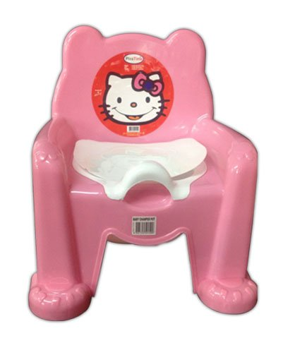 Baby Toddler Potty Chair in PINK Colour - by velson L-FENG-UK Mv4