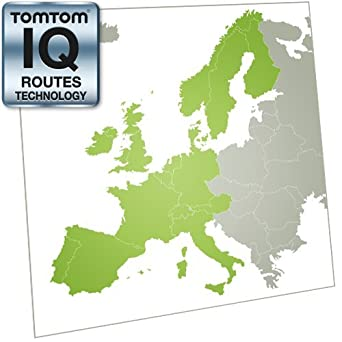 Amazoncom TomTom Western Europe Map Update Online Map Code - Western europe