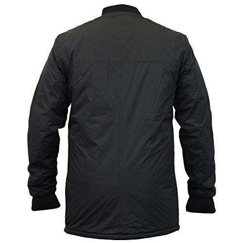 Cappotto Lungo Nero Trench Ma1 Imbottitura Mac Uomo Giacca Dmv132pka Nuovo Threadbare Harrington Inverno gTqcYpdR