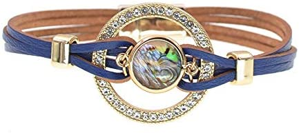 Leather Wrap Bracelets For Women Multiple Layers Charm Bracelet /& Bangle Party Fashion Jewelry dropshipping wholesale