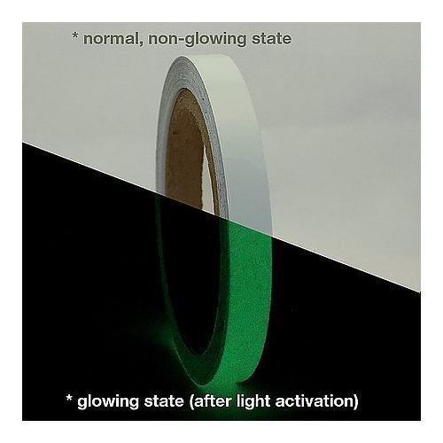 J.V. Converting GLW/LLGRN0510 JVCC GLW Glow in The Dark Tape: 1/2