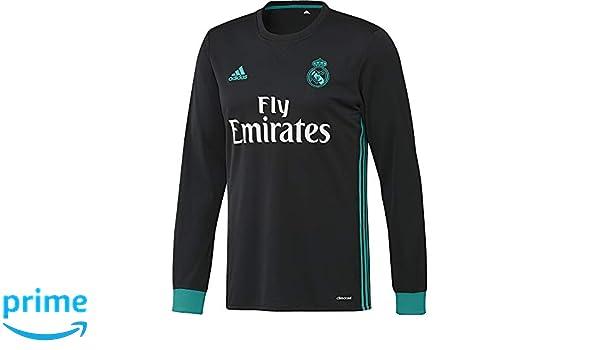 adidas Real A JSY LS Camiseta 2ª Equipación Madrid 2017-2018 ...