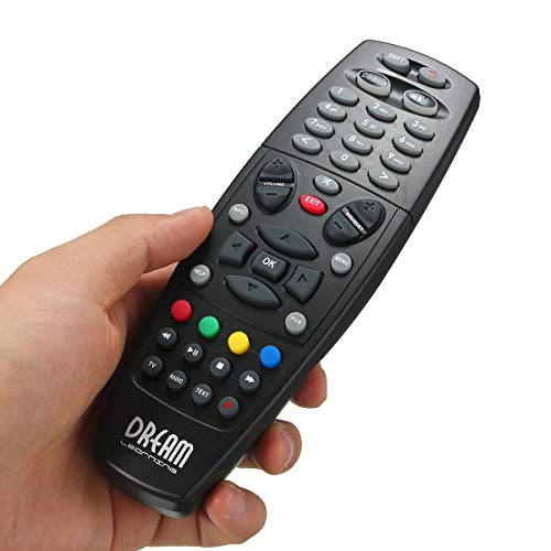 Replacement Remote Control For Dreambox DM800 DM800HD DM800se 500HD DM8000 - Keyboard & Remote Remote Control - 1 x Remote Control