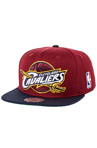 Mitchell & Ness Men's Cleveland Cavaliers XL Logo Two Tone S