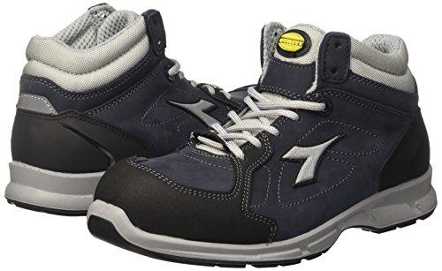 Eu 48 De Noir Diadora Duramo Course Chaussures Profondo Femme blu 8 grigio P4c6wqFa