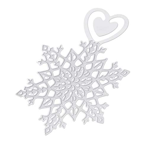 (Lovely Snowflake Metal Silver Bookmark Book Holder Office School Supplies   Style - 2#)
