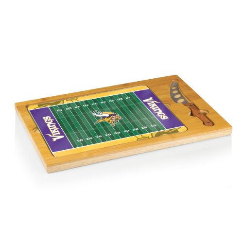 NFL Minnesota Vikings 3-Piece Icon Cheese Set