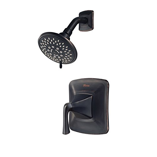 Pfister Selia Tuscan Bronze 1-Handle WaterSense Shower Faucet with Multi-Function Showerhead - Multifunction Shower Handle