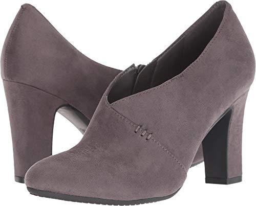 Aerosoles Women's Nametag Ankle Boot, Grey Fabric, 7 M US