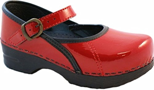 Girls' Jane Clogs Mary Marcelle Sanita Red 0T5Zq7w