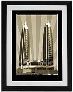 Photo of Damac Tower-Sepia No Text PF01-NM (A3)