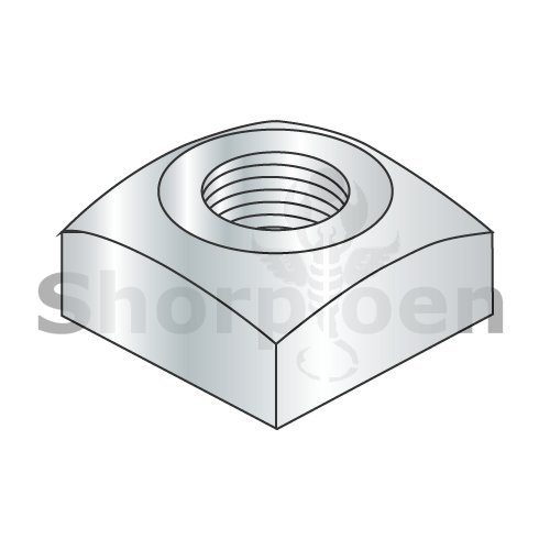 weight16.42Lbs Regular Square Nut Zinc 5//16-18 Box of 1000