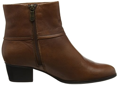 Dal Juliette Womens Van Ankle Boots Tan 468nwxq