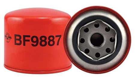 Baldwin Filters BF9887 Heavy Duty Fuel Filter (3-1/4 x 3-11/16 x 3-1/4 In)