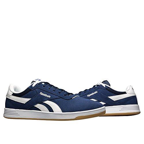 Reebok Royal Slam Sde, Zapatillas de Tenis para Hombre Azul / Blanco (Collegiate Navy / White / Gum)