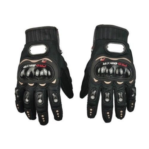 Sedeta Black L full finger gloves for weightlifting Riding Sports fingers protecor for man woman