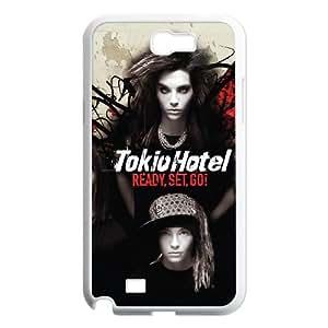 Samsung Galaxy N2 7100 Cell Phone Case Covers White Tokio Hotel Phone cover Q3277257