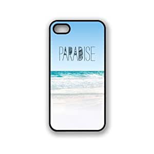 Paradise Beach Hipster Quote iphone 5s Case Fits iphone 5s - Designer TPU Cas...