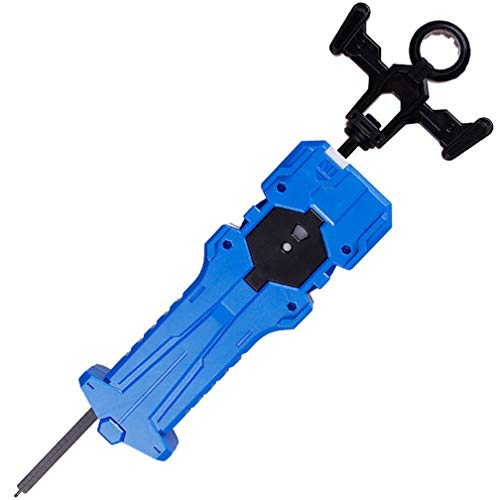 KAVCENT Bey Burst Blade Launcher Grip Turbo Supergrip B-70 Sword Launcher Strong Right Spining Top Toys Accessories for Prime(Blue)