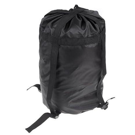 Pequeño cálido cabaña Saco de dormir Saco de dormir Sleeping Bag Bolsa Paquete para camping senderismo viaje negro funda paquete: Amazon.es: Deportes y aire ...