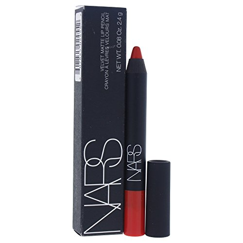 NARS Velvet Matte Lip Pencil, Red Square - Over Red Square