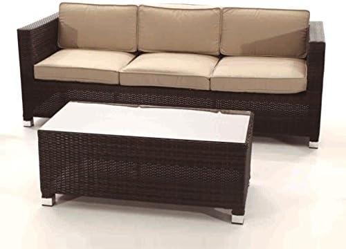 Sinergia Contract Sofa DE Exterior 3 PLAZAS. Modelo Garbi.: Amazon.es: Hogar