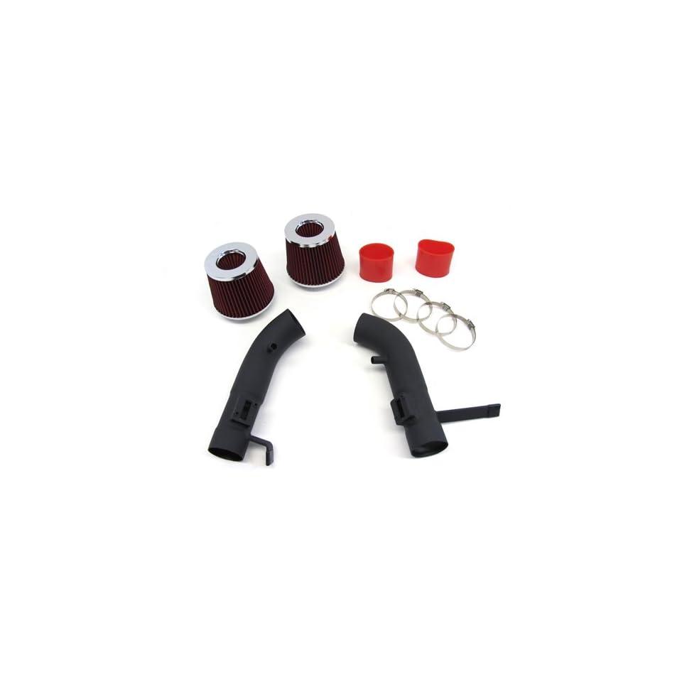 08 11 10 Infiniti G37 Coupe Short Ram Air Intake Kit Black