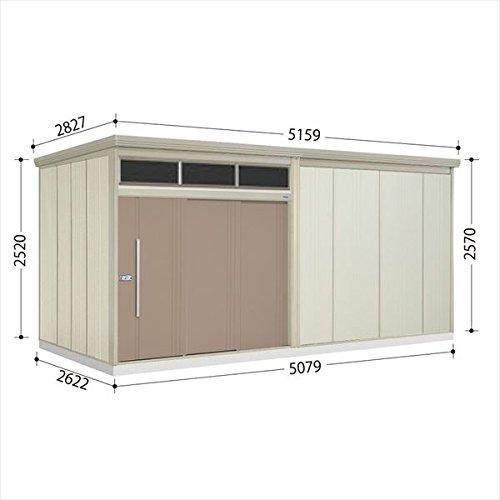 タクボ物置 JNA/トールマン ブライト JNA-S5026B 多雪型 標準屋根 『屋外用大型物置』 カーボンブラウン B01M0CCBS3