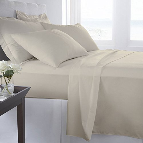 #1 Bed Sheet Set on Amazon! 1800 Thread Count Luxury Hotel Quality Bed Sheets Super Silky Soft Brushed Micro Fiber Wrinkle Free, Fade, Stain Resistant - Hypoallergenic - Deep Pockets Platinum Quality 4 Piece Sheet Sets. Top Quality Luxury Fitted & Flat Sh