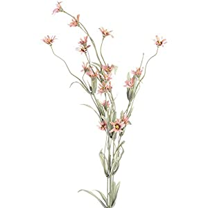 4 Pink Wildflower Look Embellishing Floral Filler Sprays for Arranging, Crafting and Creating 111
