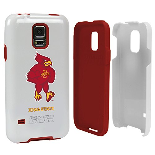Iowa State Cyclones - Hybrid Case for Samsung Galaxy S5 - White