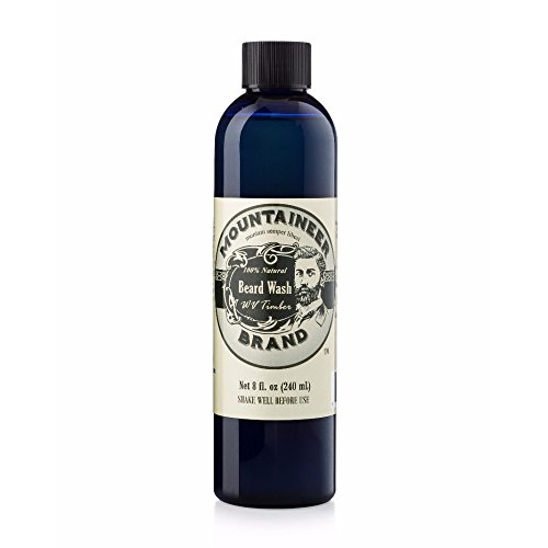Beard Wash by Mountaineer Brand All-Natural Beard Shampoo