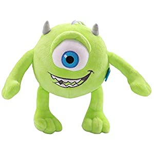 1pcs Mike Monsters University Monster Mike Wazowski Plush Toys Monsters Inc Plush Toys for Best Birthday Gift for Kids Green