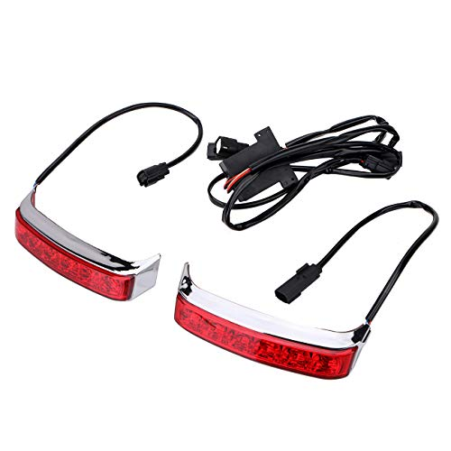 General Mega Saddlebag Tail Running Brake Turn Light LED for Harley Street Glide Road King 2014-2018