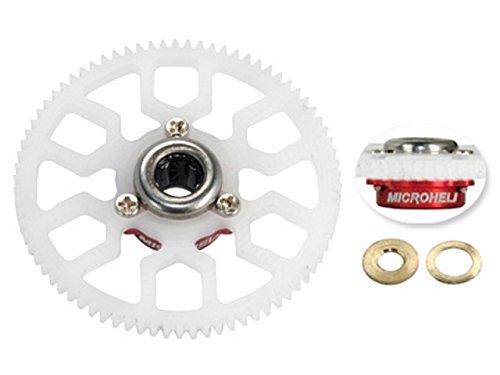Microheli Delrin Main Gear w/ Auto-Rotation Hub set (RED) - T-REX 150 DFC/150 X - Delrin Main Gear