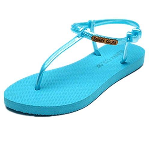 atléticos 38 los sandalia de de casuales planas zapatos las deportivo playa sandalias mujeres 1 wOUZq6v