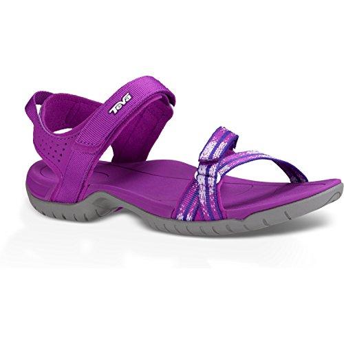 Teva Verra - Sandalias de vestir de material sintético para mujer Tzuna Purple