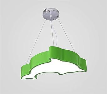 Lámpara Colgante Luz De Iluminación Techo Delfines dshCtxQr