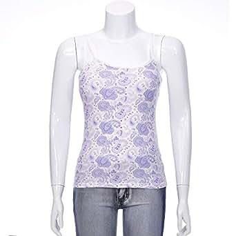 LARA DONELLA Blue Tank & Camisole For Women