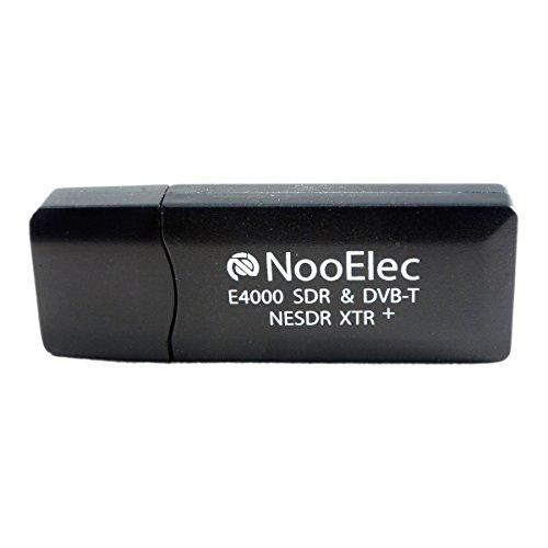 NooElec NESDR XTR+ Tiny Extended-Range TCXO-Based RTL-SDR & DVB-T USB Stick (RTL2832U + E4000) w/Antenna and Remote Control by NooElec (Image #1)