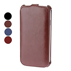 Elegant Solid Color PU Leather Full Body Case for Samsung Galaxy S4 I9500 (Assorted Colors) , Red